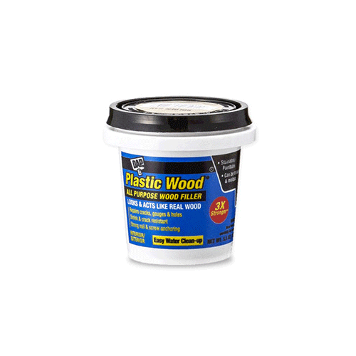 [DAP]PLASTIC WOOD FILLER  5.5oz (156g)