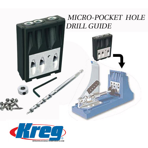 micro pocket drill guide