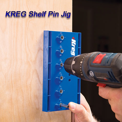 [KREG]Shelf Pin Jig(#KMA3220)