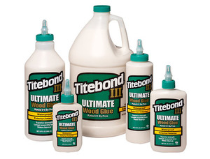 Titebond™ III Ultimate  타이트본드 3 (정품) - Ultimate ( 118ml - 3.75L)